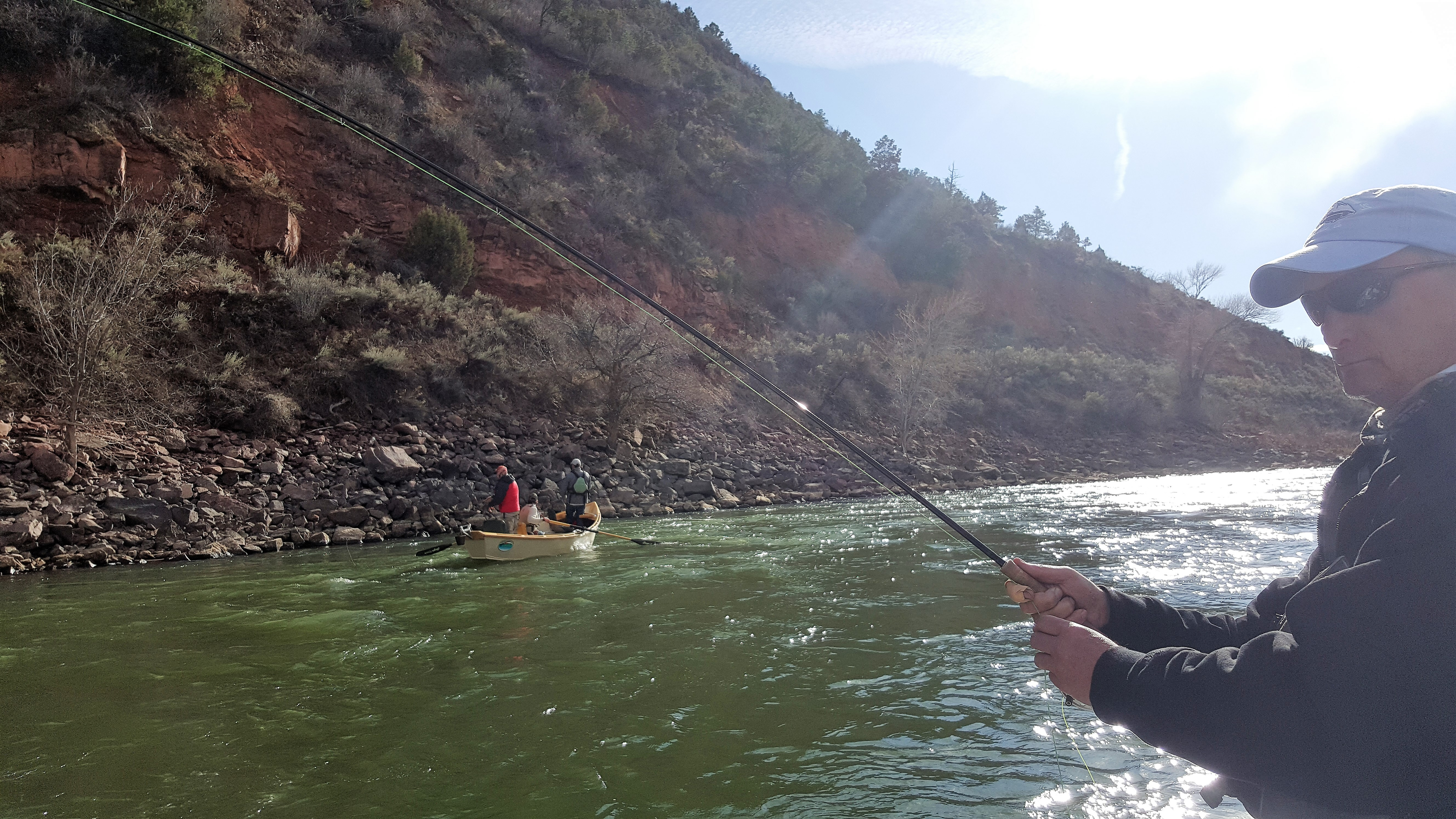 20160401 171209 harcourt fly fishing for Fly fishing classes near me